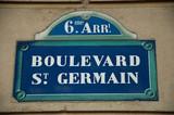Boulevard st Germain poster