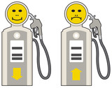 Fuel and oil price increase or decrease poster