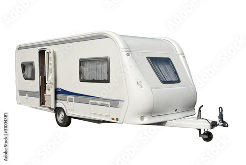 Foto op Plexiglas Kamperen Wohnwagen