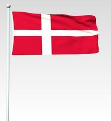 044 - Dänische Flagge - Render
