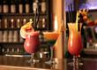 Cocktails in einer Bar