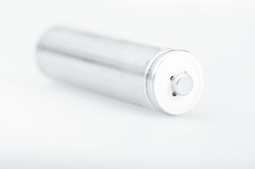 white AA battery