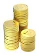 Gold baht coins