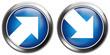 blue arrows, button set