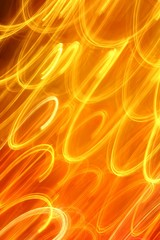 abstract light background red orange night lights