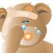 babybär - weint