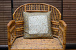 Pillow on a Wicker Chair