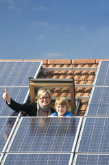 Solarenergie auf dem Hausdach