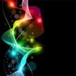 Wave of lights - Business Wallpaper