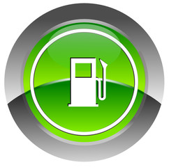 Fuel glossy icon