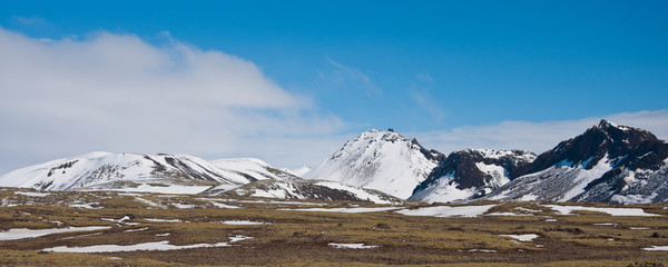 Mountains, Pingvellir, Iceland
