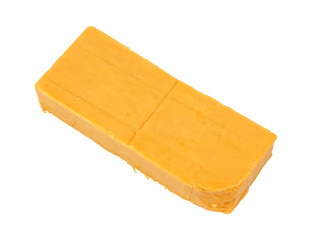 Bar of sharp cheddar cheese