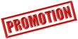 Stempel rot PROMOTION