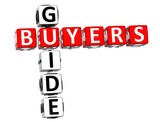 Buyers Guide Crossword poster