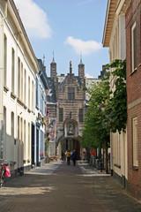 street in Bergen op Zoom