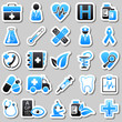 medicine Blue Stickers