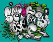 Graffiti  elements vector - 31025795