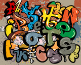 Graffiti elements vector - 31025724
