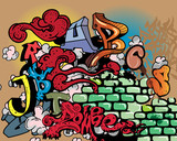 Fototapety Graffiti elements vector
