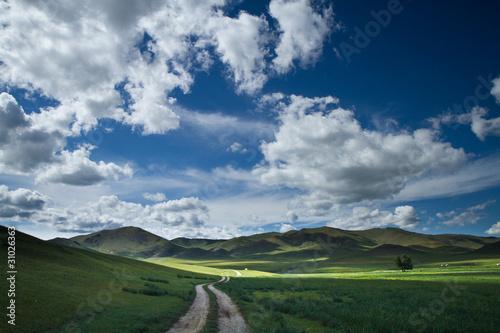 Paysage vallée de l'Orkhon
