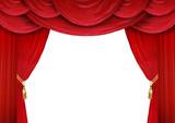 Fototapety Offene Theater Vorhänge