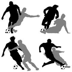 Calcio, contrasti giocatori 2