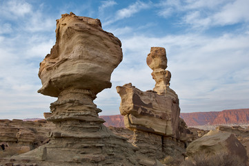 The Submarine, sandstone formation in Ischigualasto