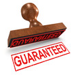 "3d Rubber Stamp - ""Guaranteed"""