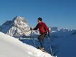 Schneeschuhwandern im Hochgebirge