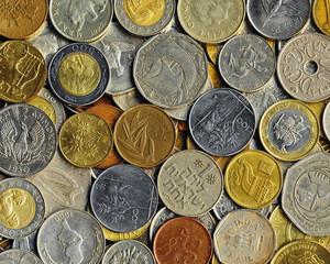 Various coins