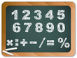 Chalk Numbers on Blackboard