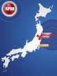 Постер, плакат: Japan Earthquake and Tsunami Disaster 2011