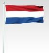133 - Niederländische Flagge - Render