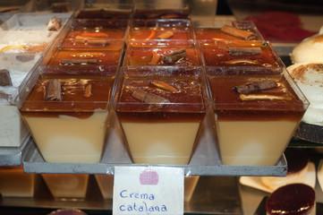 Crema Catalana at the market