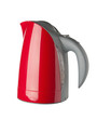 Water kettle (with clipping path), isolated on white background