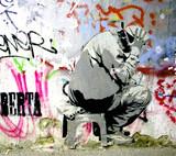 Fototapeta streetart berlin