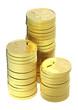 Gold Yen coins