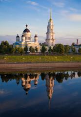 Rybinsk. The Spaso-Preobrazhenskiy cathedral
