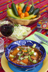 Pozole mexican traditionnal cuisine 10
