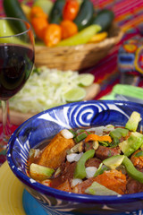 Pozole mexican traditionnal cuisine 11