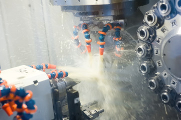 Automated detail machining at ÑNÑ milling tool center
