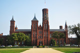 Smithsonian Castle in Washington DC, USA