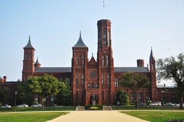 Smithsonian Castle in Washington DC, USA