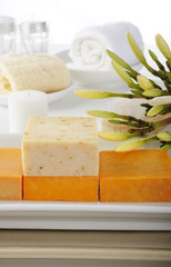 natural soap for spa