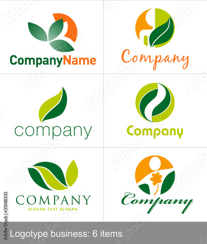 Logos empresa natural stock image and royalty free for Empresas de jardineria