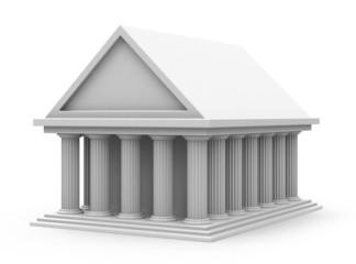 Haus auf Säulen