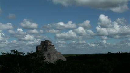 Uxmal Templo del Adivino