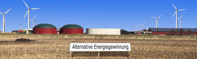 alternative Energiegewinnung