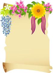 Primavera - pergamena