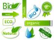 Bio sticker set